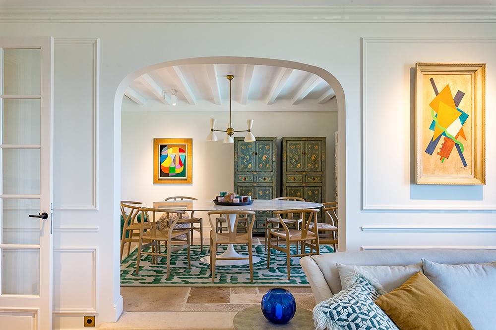 projet-architecture-interieure-salleamanger-salon-villa-Gassin-FG-Design