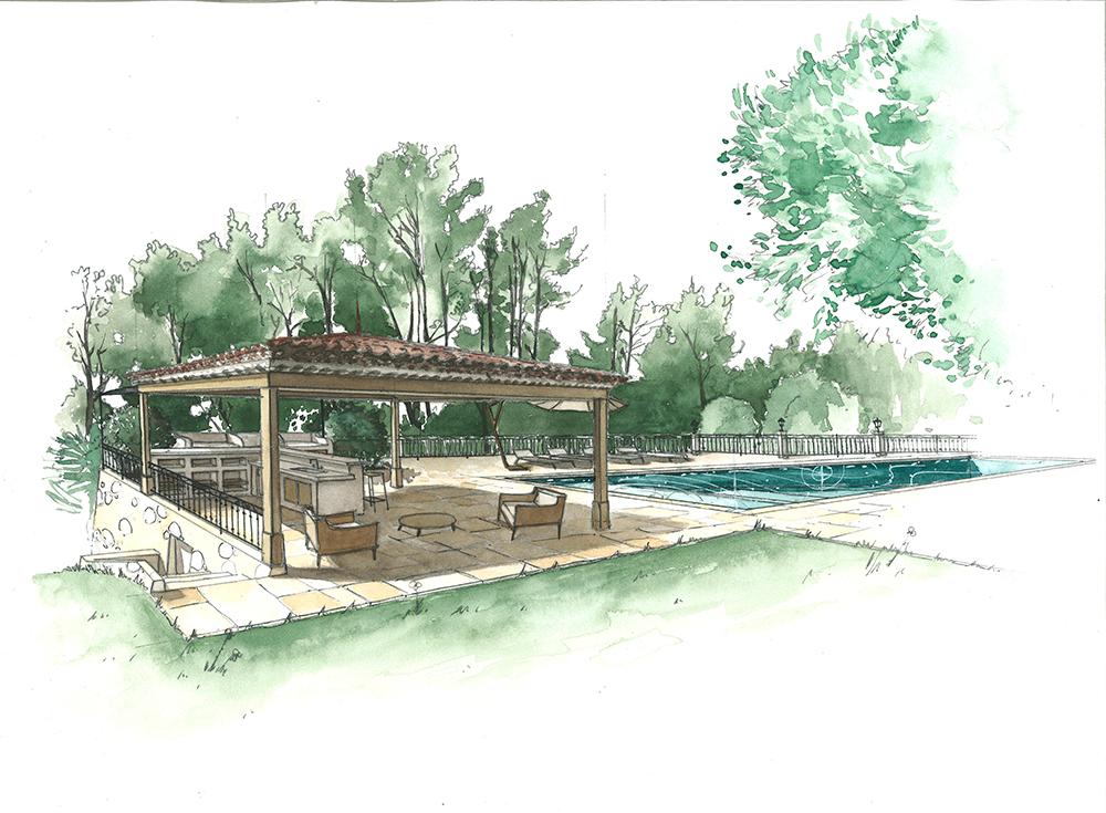 dessin-jardin-piscine-projet-architecture
