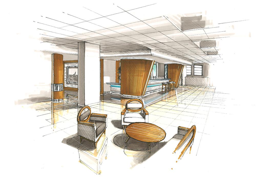 dessin-perspective-projet-architecture-btp
