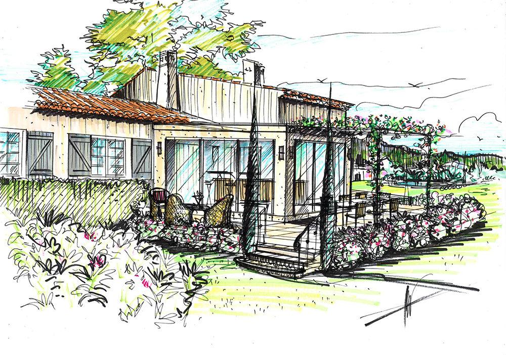 projet-architecture-paysagisme-maison-dessin