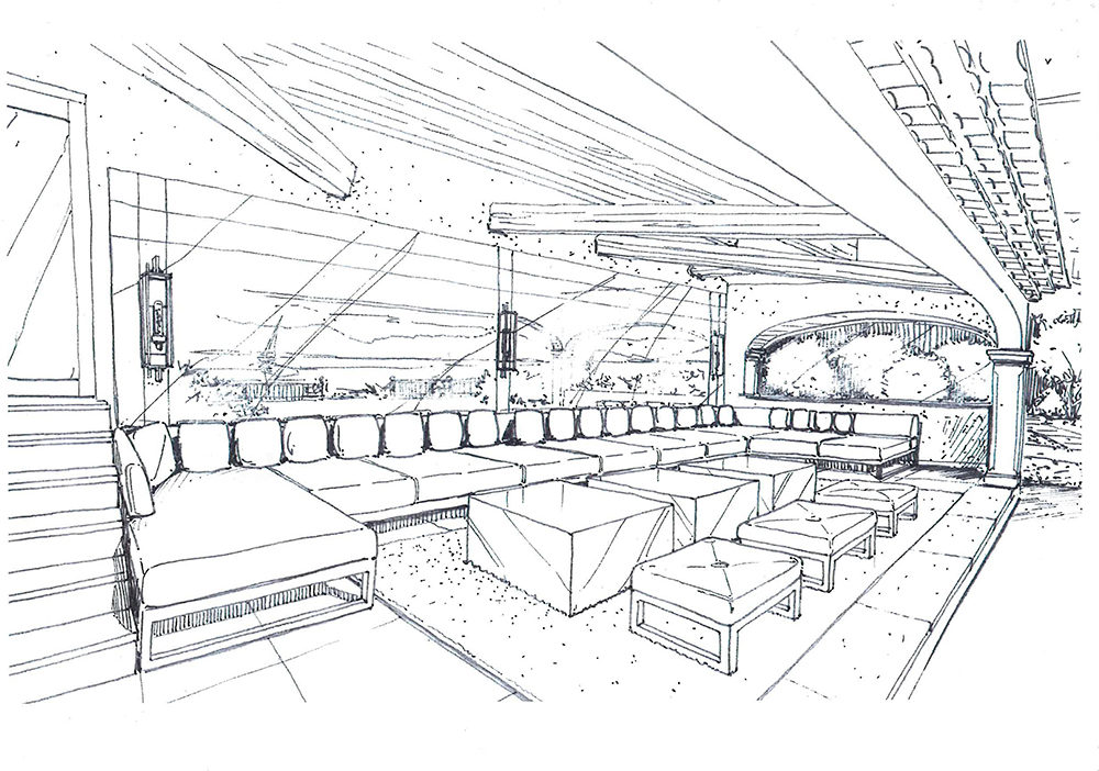 projet-architecture-terrasse-salon-dessin